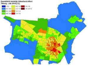 Gemiddelde-hitte-eilandkaart-Tilburg