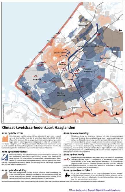 Klimaat-kwetsbaarhedenkaart-Haaglanden